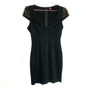 2b bebe | Women's Dahlia Spiked Sleeve Dress
